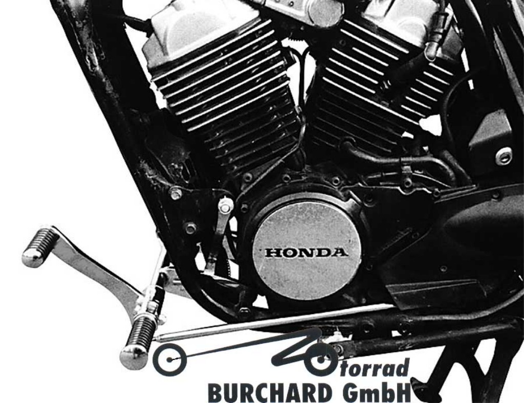 MOTORRAD BURCHARD モトラッド バーチャード Forward Controls Kit 32cm forward TUV VT 500 C
