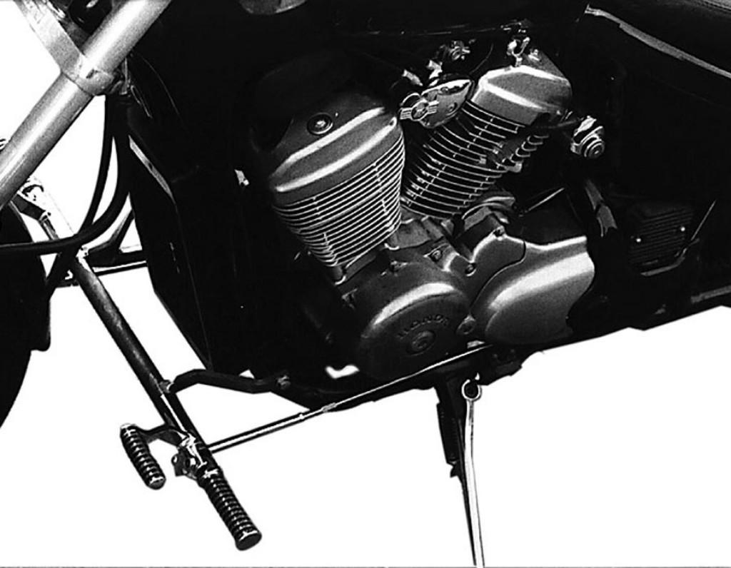 MOTORRAD BURCHARD モトラッド バーチャード Forward Controls Kit traverse version 12cm forward TUV VT 600 Shadow