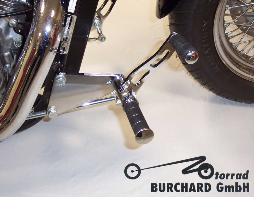MOTORRAD BURCHARD モトラッド バーチャード Forward Controls Kit 12cm forward TUV VT 600 Shadow