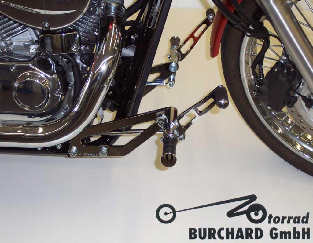 MOTORRAD BURCHARD モトラッド バーチャード Forward Controls Kit 21cm forward ABE VT 750 Shadow VT 750 Spirit