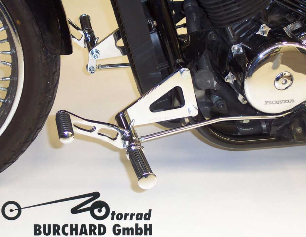 MOTORRAD BURCHARD モトラッド バーチャード Forward Controls Kit 18cm forward ABE VT 750 Black Widow