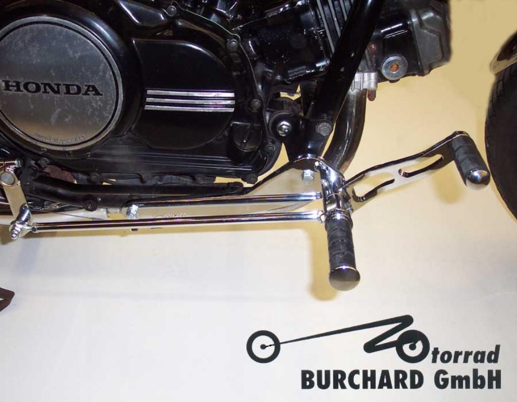 MOTORRAD BURCHARD モトラッド バーチャード Forward Controls Kit 27cm forward TUV V65 Magna VF 1100 C