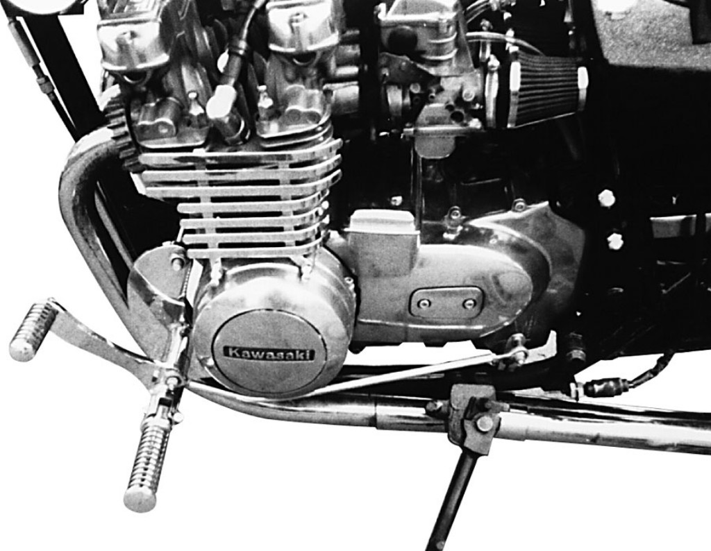 MOTORRAD BURCHARD モトラッド バーチャード Forward Controls Kit 35cm forward TUV Z 650 SR