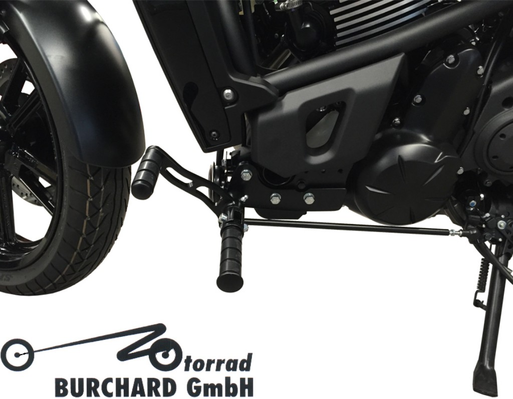 MOTORRAD BURCHARD モトラッド バーチャード Forward Controls Kit 12cm forward ABE Vulcan S Vulcan S