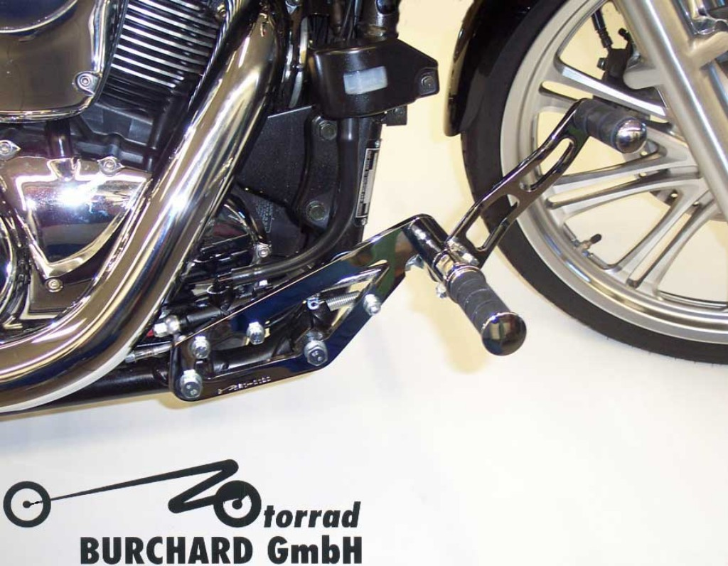 MOTORRAD BURCHARD モトラッド バーチャード Forward Controls Kit 17cm forward ABE VN 900 Classic VN 900 Classic VN 900 Custom VN 900 Custom