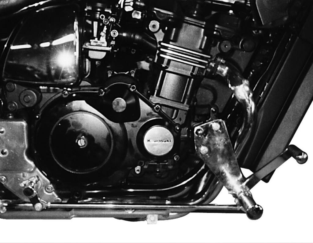 MOTORRAD BURCHARD モトラッド バーチャード Forward Controls Kit 45cm forward TUV ZL 1000