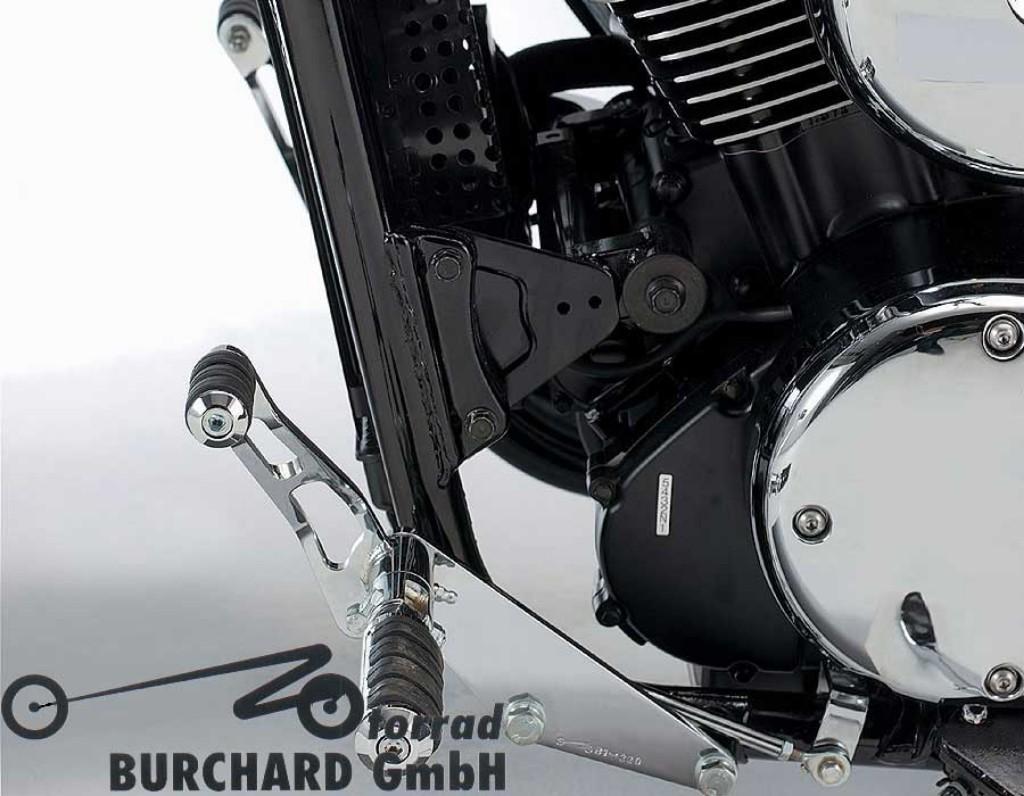 MOTORRAD BURCHARD モトラッド バーチャード Forward Controls Kit 25cm forward ABE VN 1500 Classic