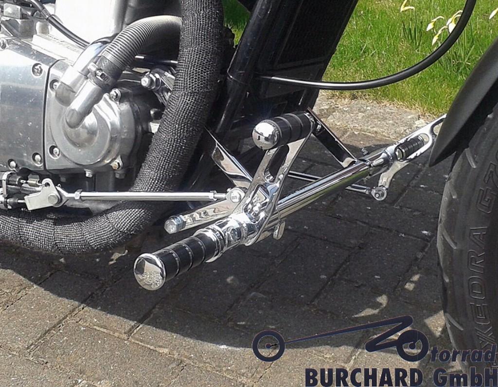 MOTORRAD BURCHARD モトラッド バーチャード Forward Controls Kit 12cm forward TUV EN 500 C