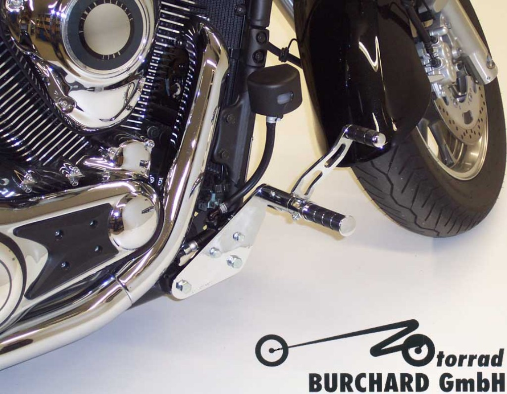 MOTORRAD BURCHARD モトラッド バーチャード Forward Controls Kit 10cm forward TUV VN 1700 Classic