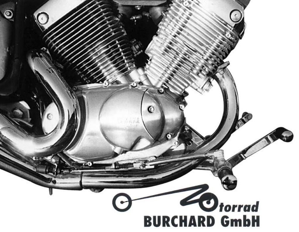 MOTORRAD BURCHARD モトラッド バーチャード Forward Controls Kit 18cm forward TUV XV 535 Virago XV 535 Virago XV 535 Virago
