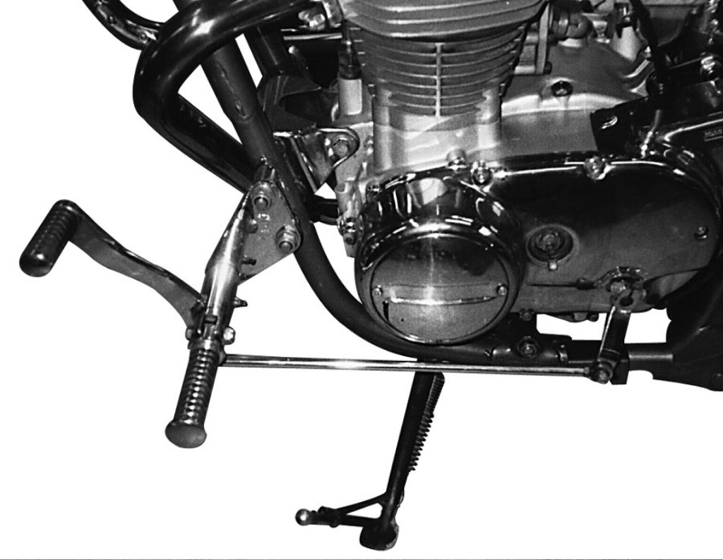 MOTORRAD BURCHARD モトラッド バーチャード Forward Controls Kit 39cm forward TUV XS 650 SE