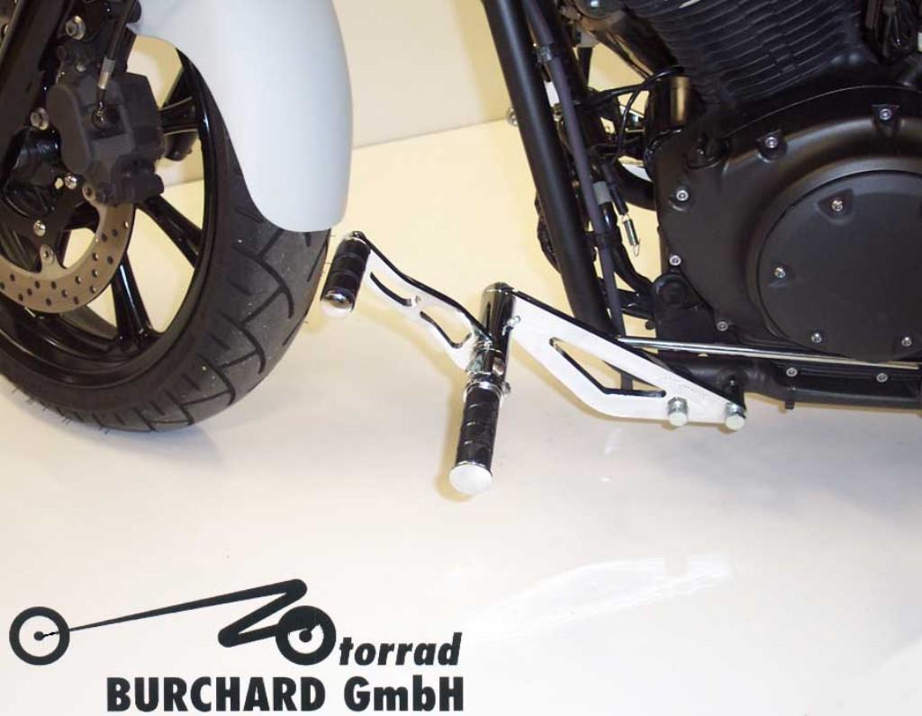 MOTORRAD BURCHARD モトラッド バーチャード Forward Controls Kit 18cm forward TUV XVS 950 A Midnight Star