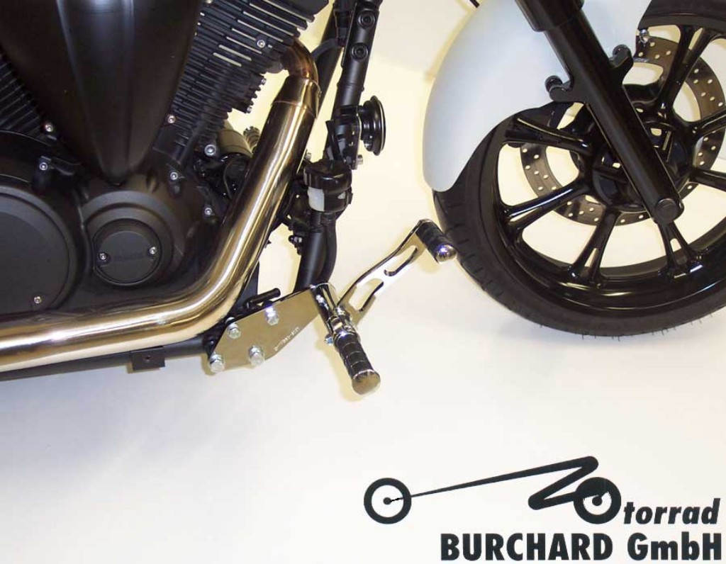 MOTORRAD BURCHARD モトラッド バーチャード Forward Controls Kit 10cm forward TUV XVS 950 A Midnight Star