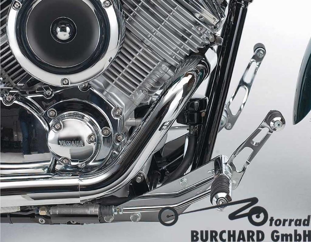 MOTORRAD BURCHARD モトラッド バーチャード Forward Controls Kit 19cm forward ABE XVS 1100 Drag Star XVS 1100 Drag Star Classic XVS 1100 Drag Star Classic XVS 1100 Drag Star Classic