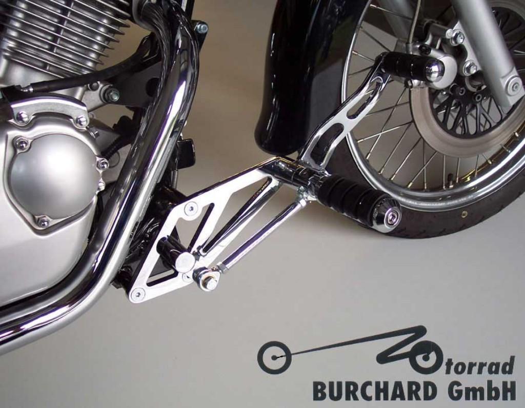MOTORRAD BURCHARDモトラッド バーチャード フットペグステップ Forward Controls Kit 15cm Intruder LC forward VL オンラインショップ TUV BURCHARD 125 モトラッド 毎週更新