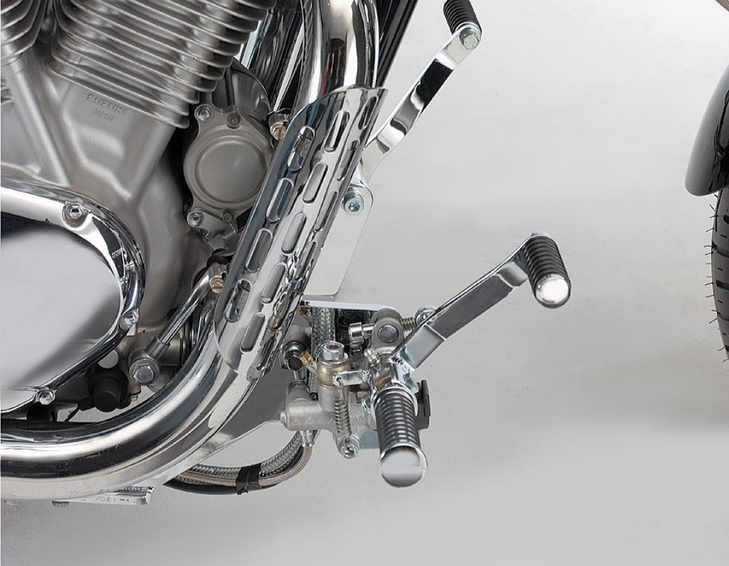 MOTORRAD BURCHARD モトラッド バーチャード Forward Controls Kit 30cm forward TUV VS 1400 Intruder