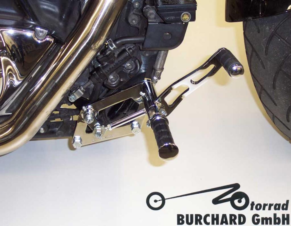 MOTORRAD BURCHARD モトラッド バーチャード Forward Controls Kit 10cm forward ABE VL 1500 Intruder VL 1500 Intruder