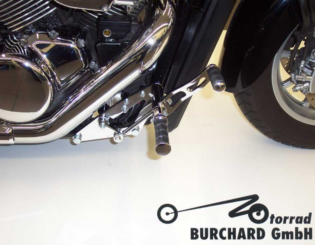 MOTORRAD BURCHARD モトラッド バーチャード Forward Controls Kit 15 cm forward ABE C 1800 Intruder
