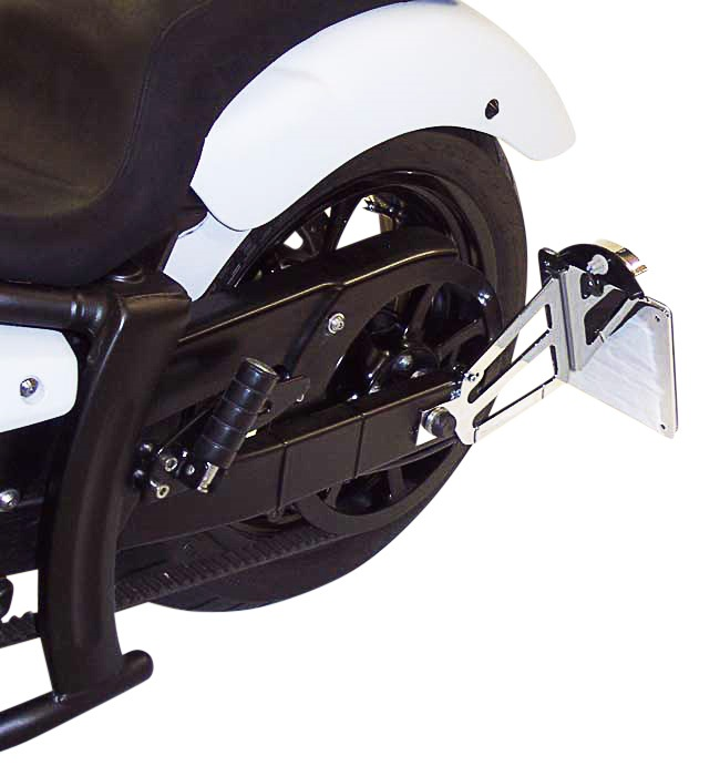 MOTORRAD BURCHARD モトラッド バーチャード サイドナンバーキット(TUV規格) XVS 950 A Midnight Star:ウェビック 店