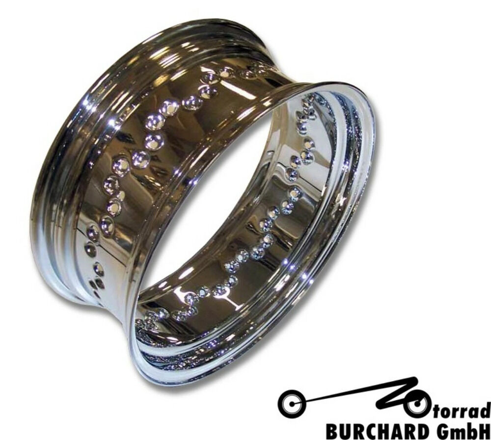 "MOTORRAD BURCHARD モトラッド バーチャード Rim Ring 6.00×15""for rear TUV VS 1400 Intruder XV 1600 Wild Star"