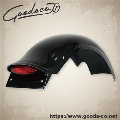 GOODS グッズ ラウンドボブフェンダーキット レッド SR400 SR500