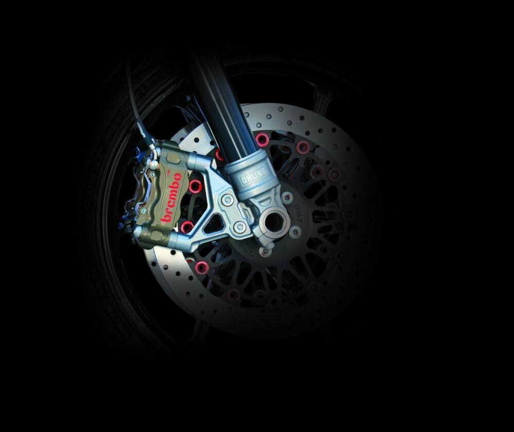 新品本物 NITRO RACING ナイトロレーシング OHLINS:オーリンズ RWU ExMパッケージ ラジアルマウントキャリパー仕様 GPZ900R, 三加和町 91fd79d2