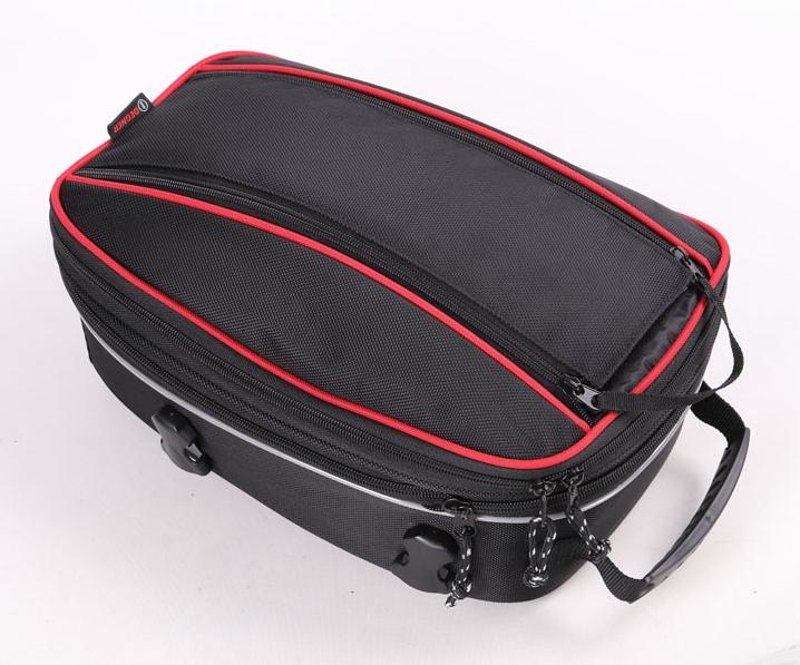 DEGNERデグナー シートバッグ 35%OFF 春の新作 アジャスターシートバッグ カラー:レッドパイピング DEGNER デグナー