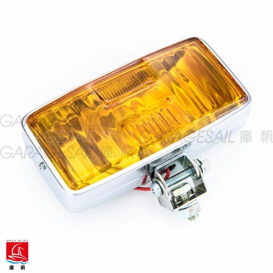 GarageSaiL ガレージセイル Retro Type Rectangle Headlight