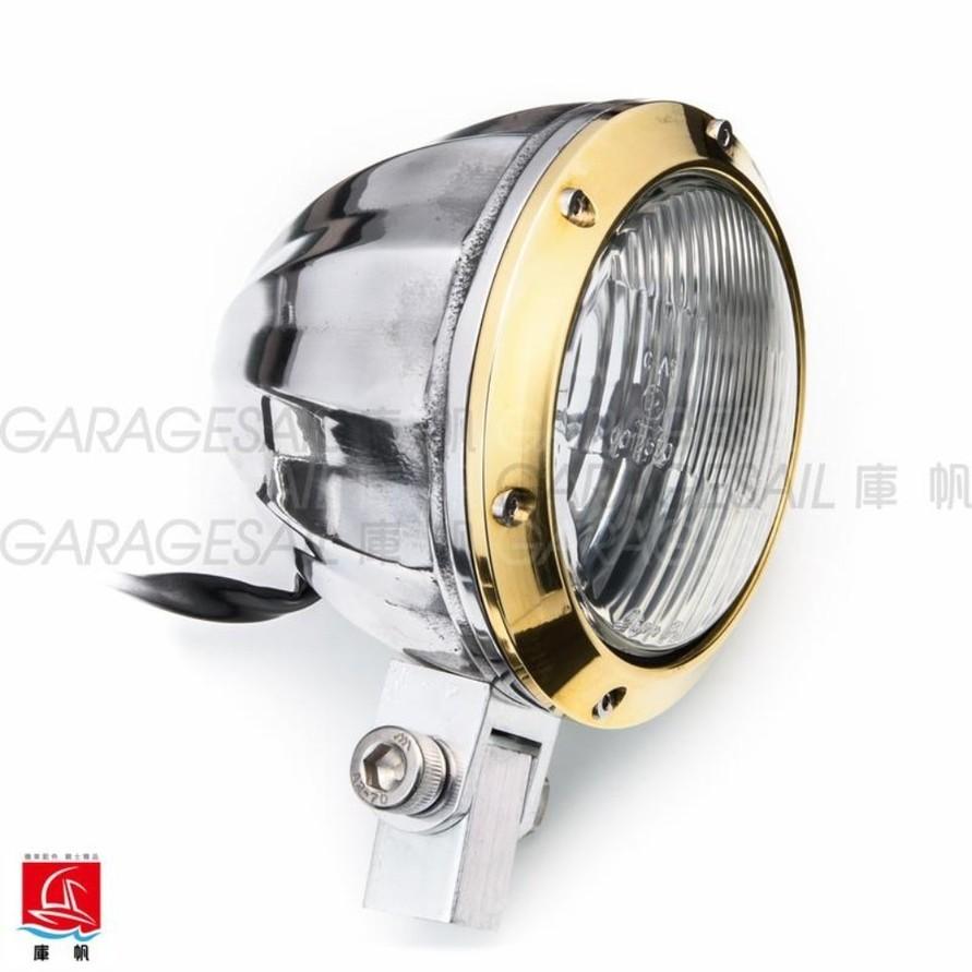 """GarageSaiL ガレージセイル 4.5"""" Da Vinci Headlight"""