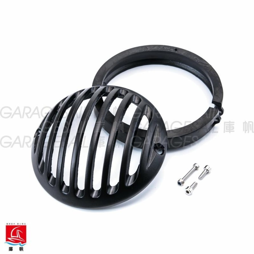 "GarageSaiL ガレージセイル 4.5"" Casting Fence Headlight Cover"