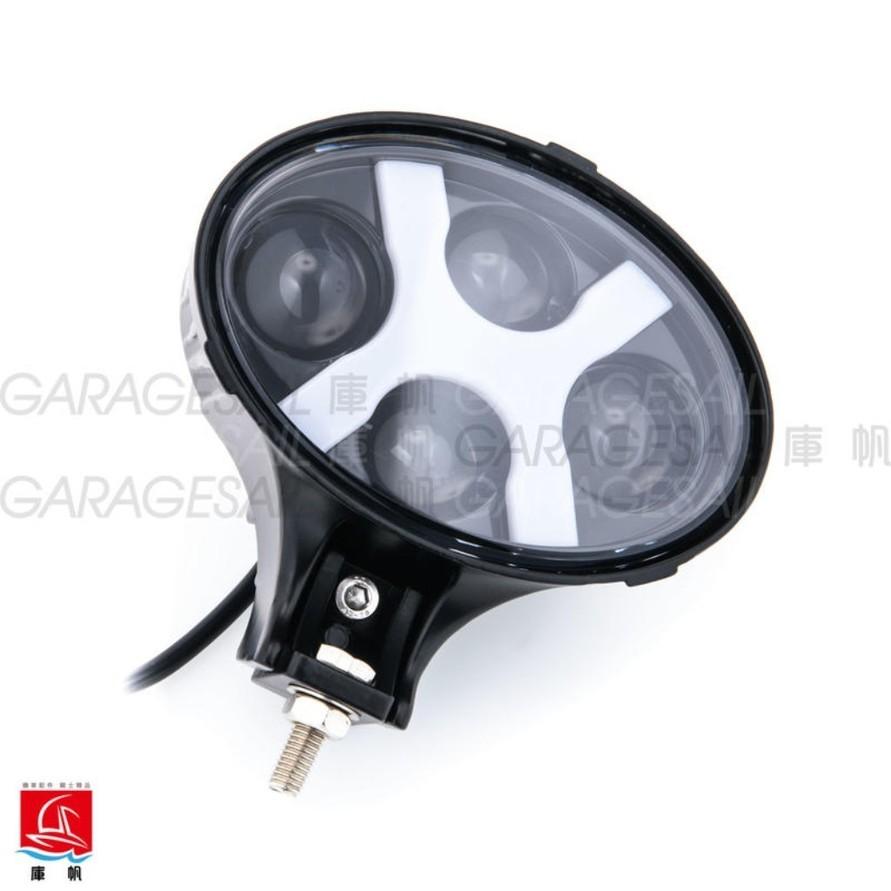 "GarageSaiL ガレージセイル 6"" Oval LED Headlight"