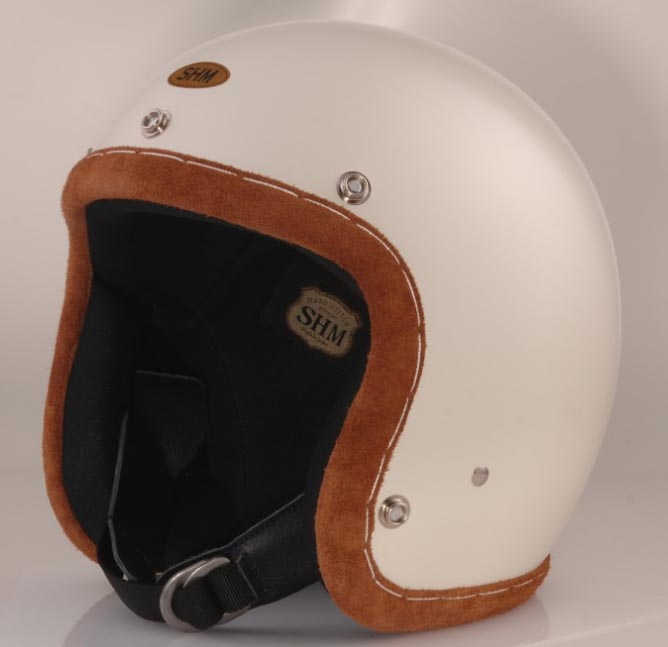DIN MARKETディンマーケット お買得 ジェットヘルメット SHM HAND 開店記念セール ディンマーケット MARKET ステッチ STITCH ハンド