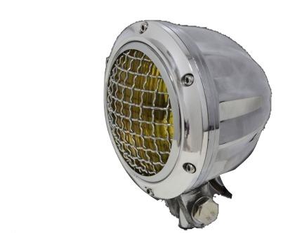 ガレージT&F 4インチビレットヘッドライト&ステーセット タイプB バルカン400クラシック
