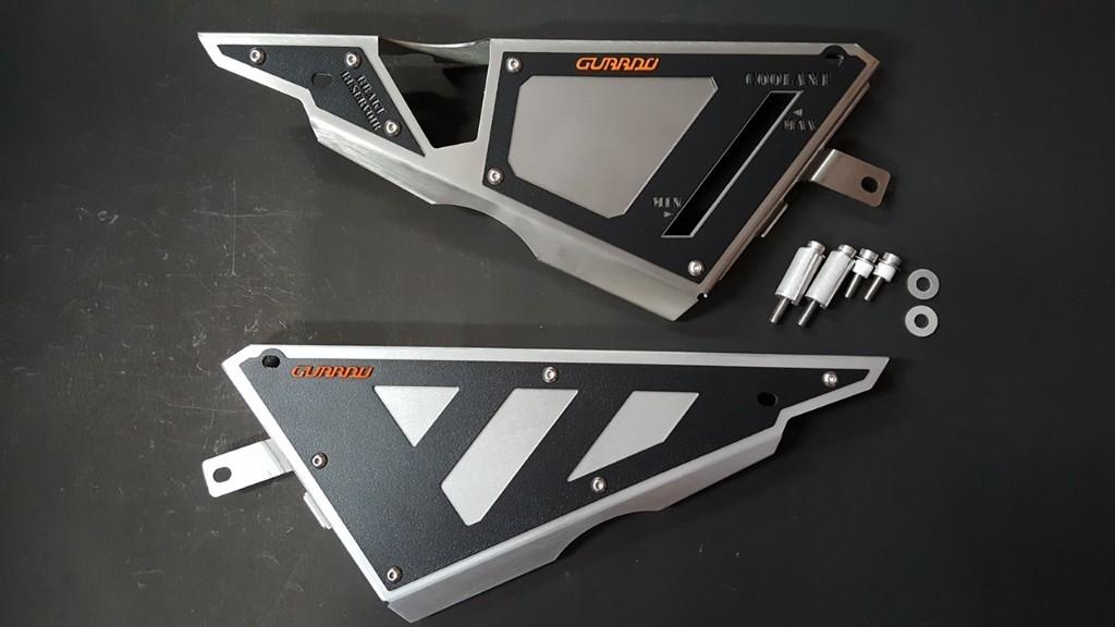 GUARDO ガルドー サイドプレートカバー Z650