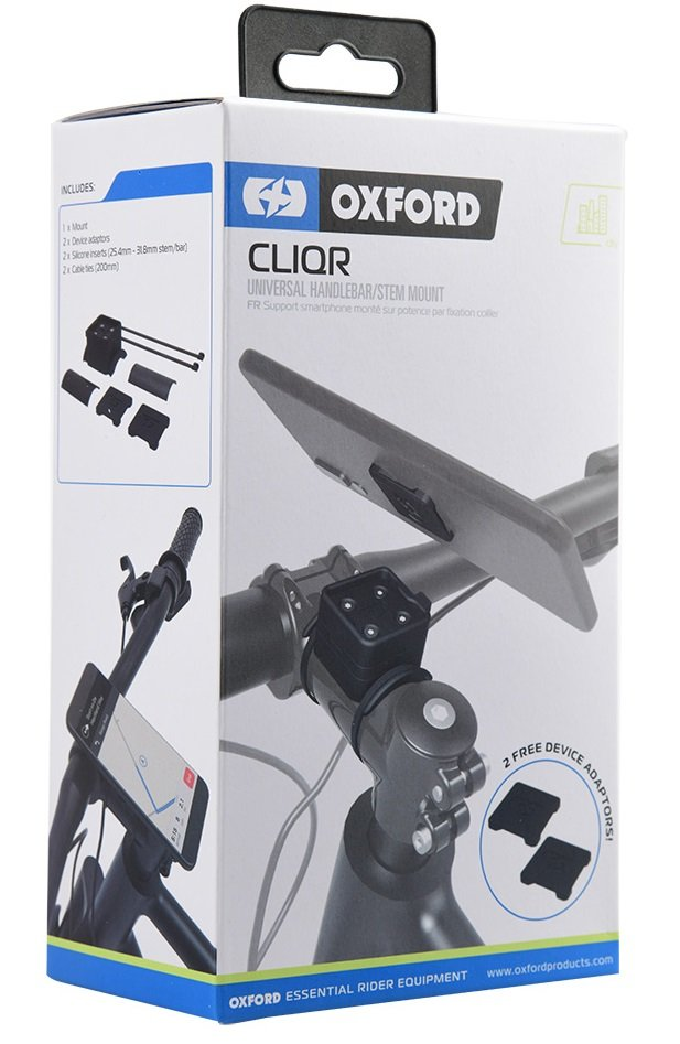 OXFORDオックスフォード スマートフォンホルダースマートフォンマウント  【CLIQR:クリッカ】ハンドルマウント OXFORD オックスフォード 【CLIQR:クリッカ】ハンドルマウント