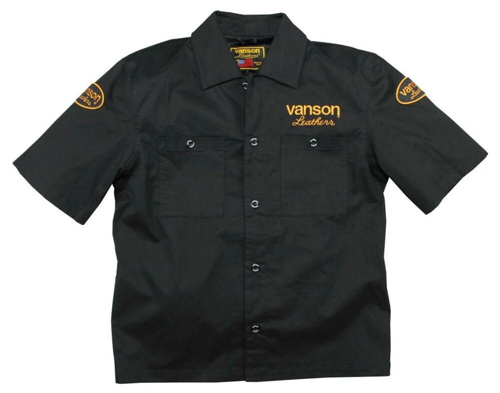 VANSON バンソン ワークシャツ