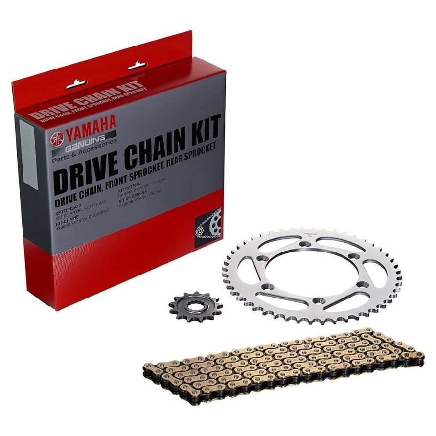 US YAMAHA 北米ヤマハ純正アクセサリー Genuine Yamaha Chain & Sprocket Kit YZ450F