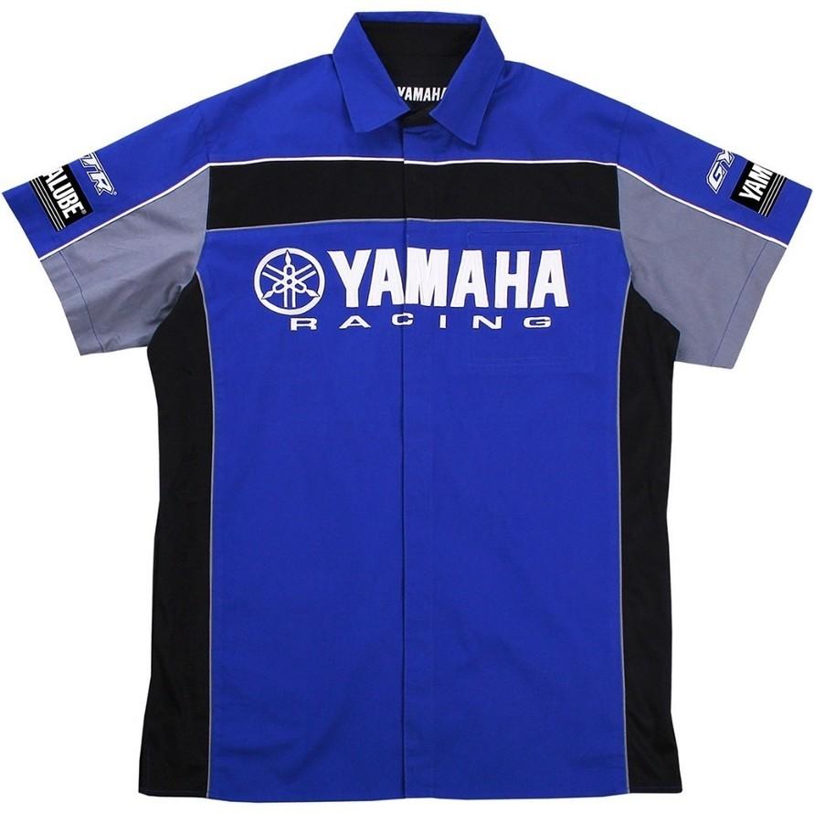 US YAMAHA 北米ヤマハ純正アクセサリー Men's Yamaha Racing Pit Shirt