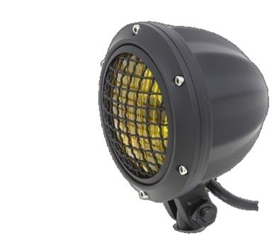 ガレージT&F 4インチビレットヘッドライト&ステーセット タイプD スティード400