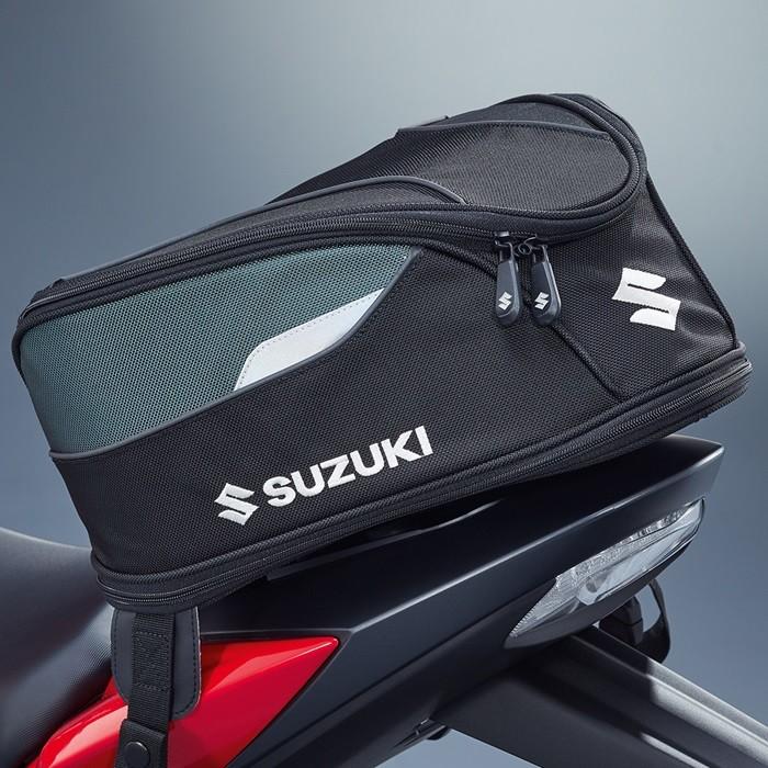 US SUZUKI 北米スズキ純正アクセサリー Textile Tail Bag GSX-R1000 GSX-S1000 GSX-S750