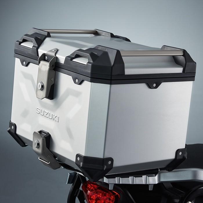 US SUZUKI 北米スズキ純正アクセサリー 38L Top Case V-Strom 1000 V-Strom 1050 V-Strom 650