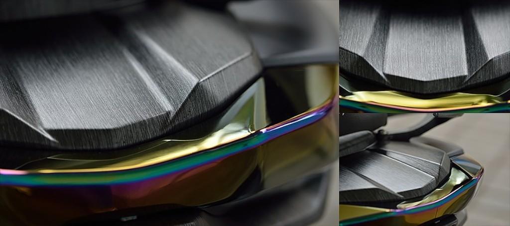 EPIC エピック Water transfer printing taillight top cover CYGNUS-X NXC-125S CYGNUS-X NXC-125SA