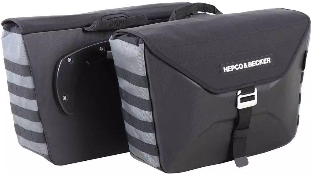 HEPCO&BECKER ヘプコ&ベッカー H&B サイドソフトケース 「X Travel C-Bow」 片側のみ
