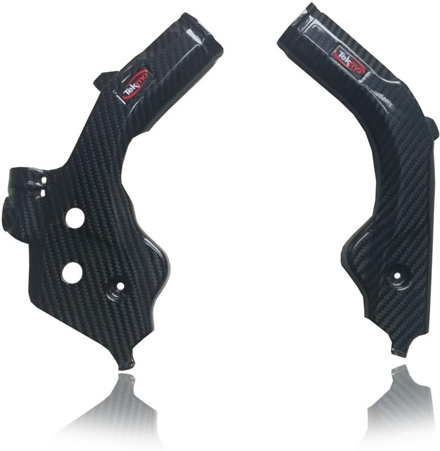 Tekmo Racing テクモレーシング カーボンフレームガード FC250 FC350 FC450 FE250 FE350 FE450 FE501 FS450 FX350 FX450 TC125 TC250 TE150i TE250i TE300i TX300