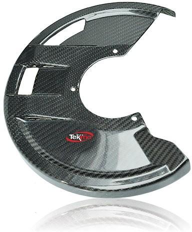 Tekmo Racing テクモレーシング カーボンフロントブレーキカバー(マウント付き) CRF250R CRF450R