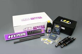 HYPERPRO ハイパープロ ストリートボックス ツインショック 360 エマルジョン FXD DYNA SUPER GLIDE
