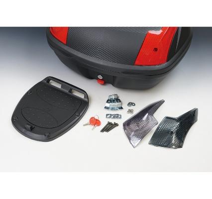 売れ筋 驚きの価格が実現 ROUGH ROADラフ ロードラフアンドロード バッグボックス類取り付けステー ラフ ロード ROAD ハードトップケース用鍵ASSY