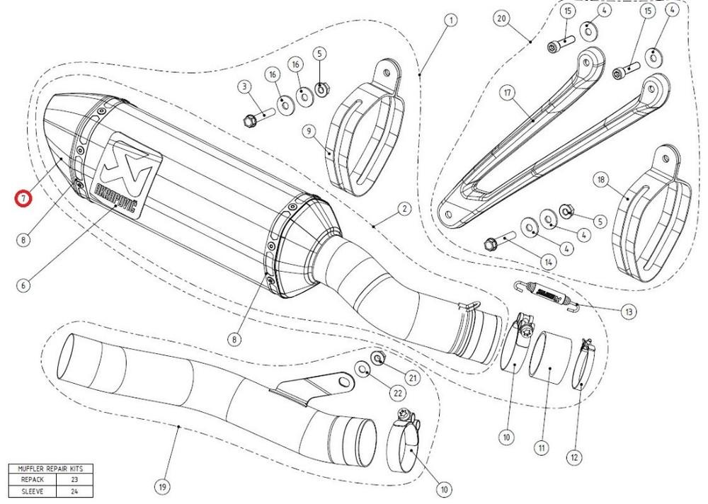 AKRAPOVICアクラポビッチ マフラーエンドキャップ オープニング 大放出セール リペアパーツ V-EC120 end cap ZX-10R AKRAPOVIC ZX-10RR ca アクラポビッチ トレンド