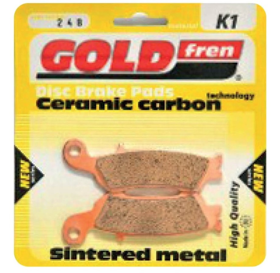 ブレーキ GOLDfren ゴールドフレン TYP384K1  GOLDfren ゴールドフレン ブレーキパッド・シュー TYP 384 K1 ブレーキパッド
