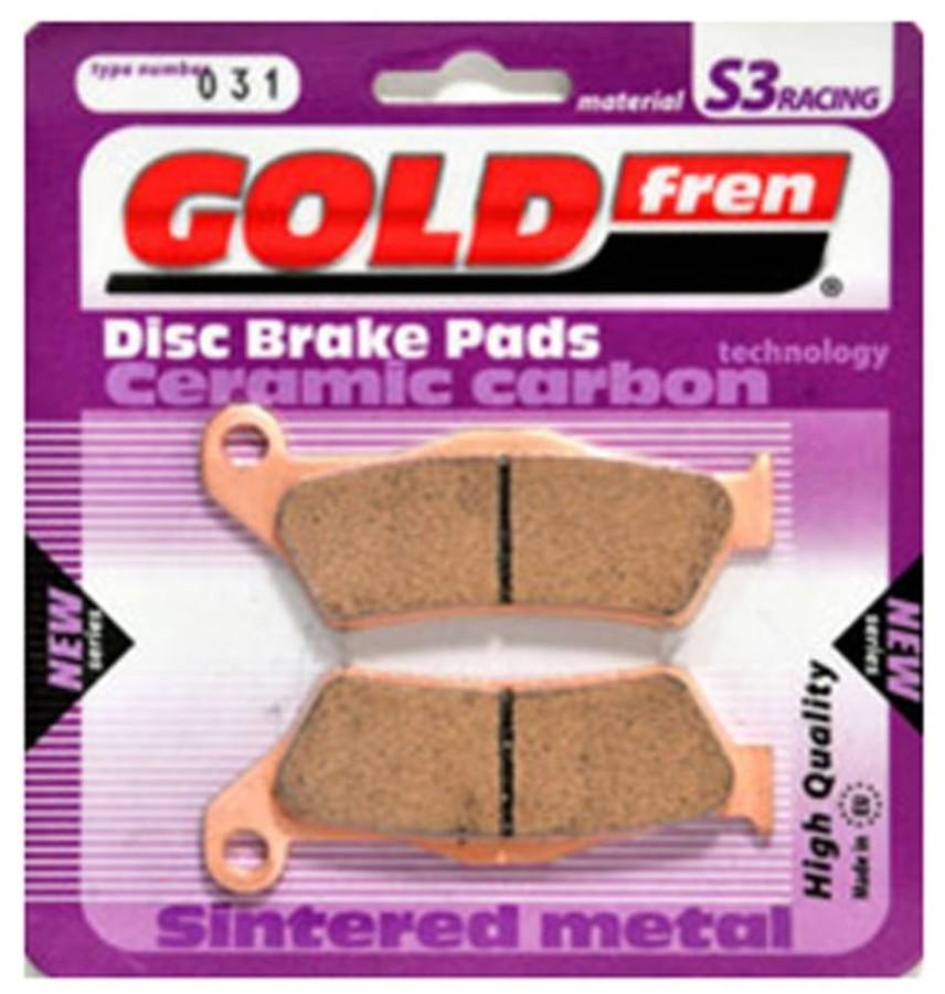 ブレーキ GOLDfren ゴールドフレン TYP375S3  GOLDfren ゴールドフレン ブレーキパッド・シュー TYP 375 S3 ブレーキパッド
